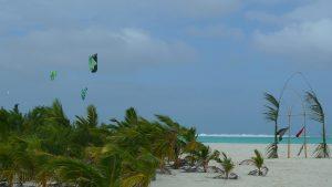 Kitesurfing Aitutaki / Cookinseln