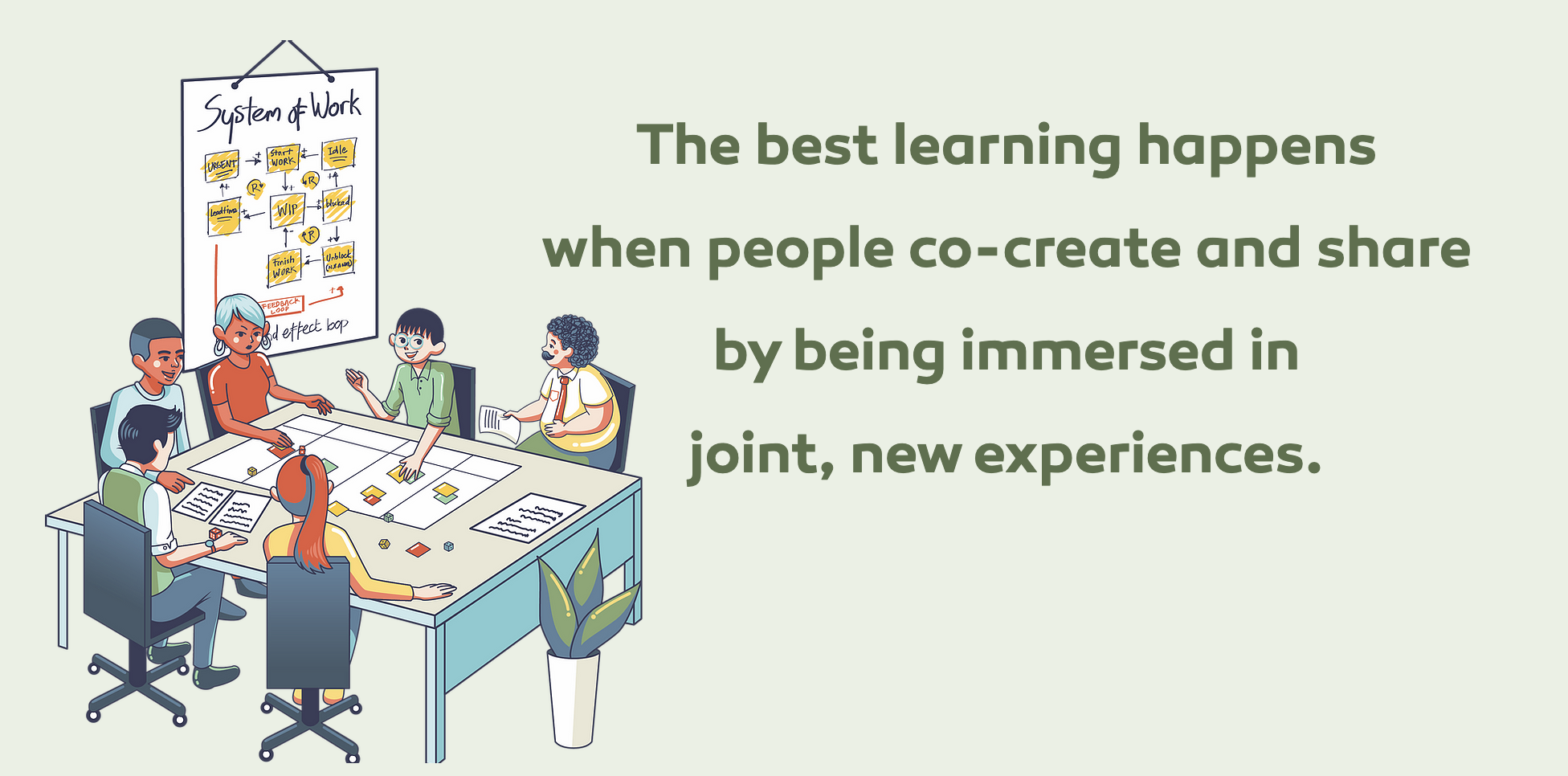 Learning by experimenting